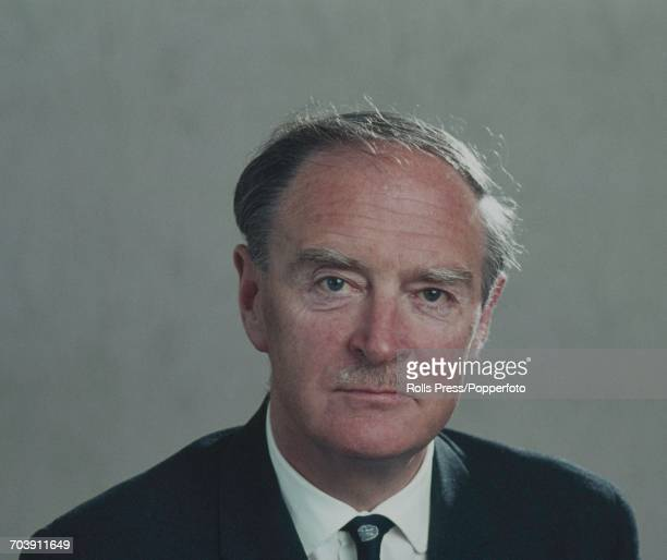 Irish Fine Gael politician Leader of the Fine Gael Party and TD for Dun Laoghaire and Rathdown Liam Cosgrave pictured in Dublin Ireland in June 1971