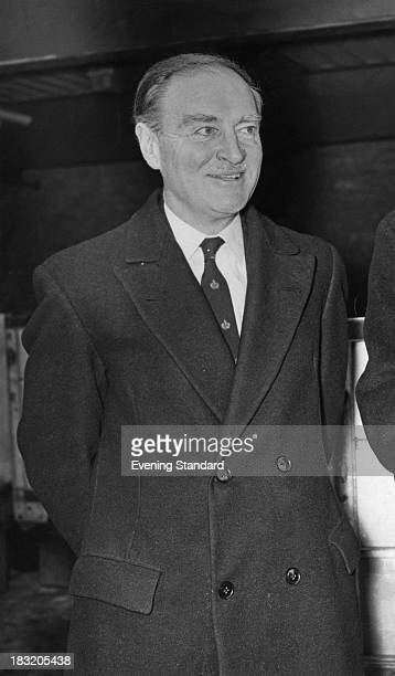 Irish Fine Gael politician Liam Cosgrave five days before he was elected Taoiseach 9th March 1973