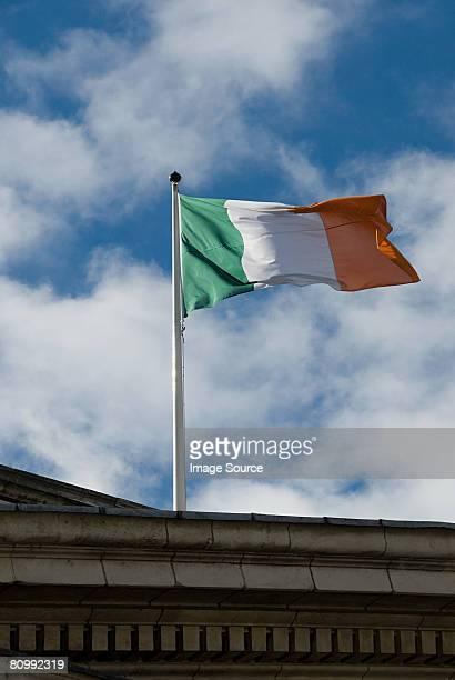 irish flag - irish flag stock pictures, royalty-free photos & images