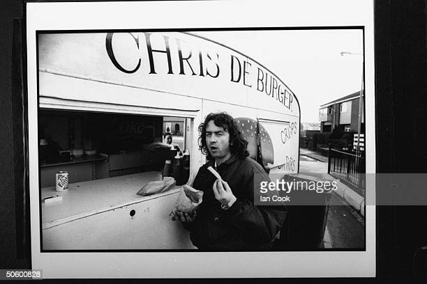 Irish folk hero Gerry Conlon after 15 yrs was released fr prison in '89 when proven innocent of the Guilford Four's '74 IRA bombings of 2 British...