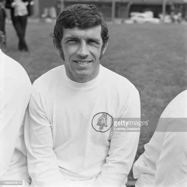 Irish footballer Johnny Giles of Leeds United FC, UK, 1971.