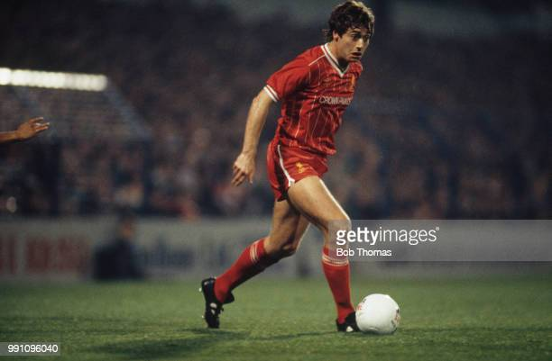 Irish footballer Michael Robinson of Liverpool in a Football League Cup 3rd round match against Tottenham Hotspur at White Hart Lane London 31st...