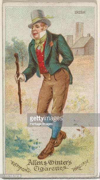 Irish from World's Dudes series for Allen Ginter Cigarettes 1888 Artist Allen Ginter