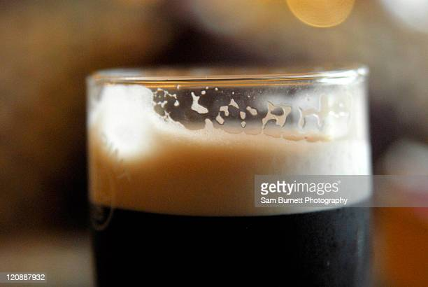 Irish Guinness, in bar