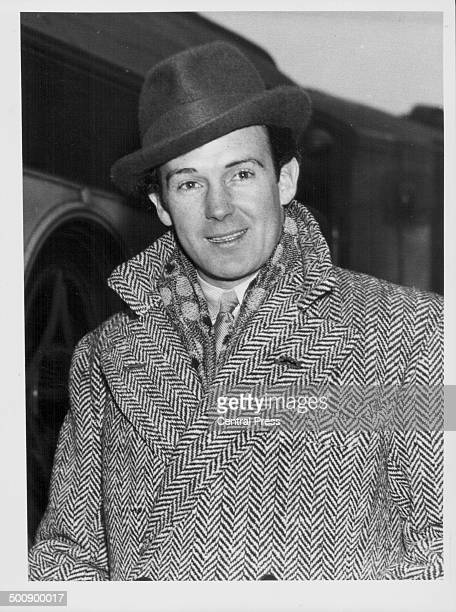 Irish heavyweight boxer Jack Doyle arriving at Waterloo Station London December 1936 This was reprinted following his death on December 13th 1978
