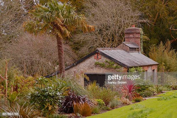 irish house near blarney stone castle ireland. - blarney stone stock pictures, royalty-free photos & images