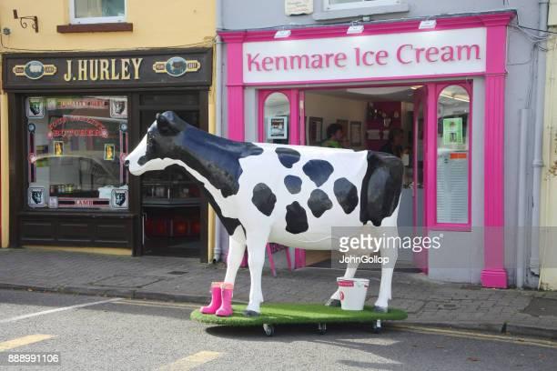 アイルランドのアイス クリーム パーラー - 実物大 ストックフォトと画像