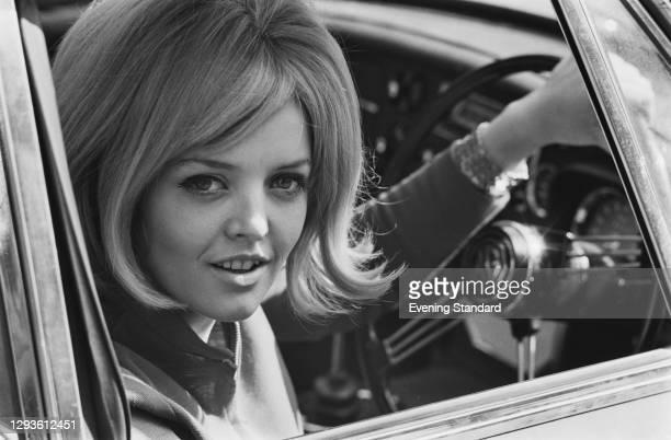 Irish journalist Polly Devlin, a columnist for the Evening Standard, UK, March 1967.