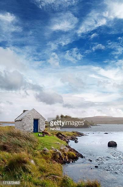 Irish Landschaft in Connemara