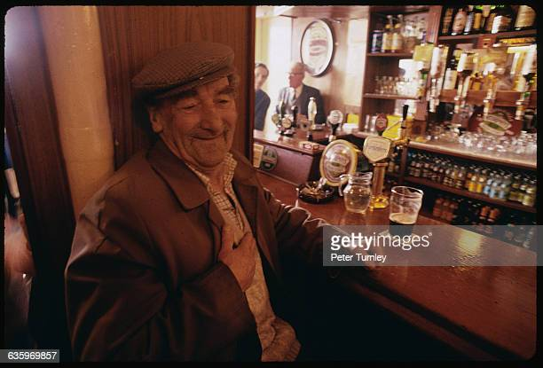 Irish Man in a Pub