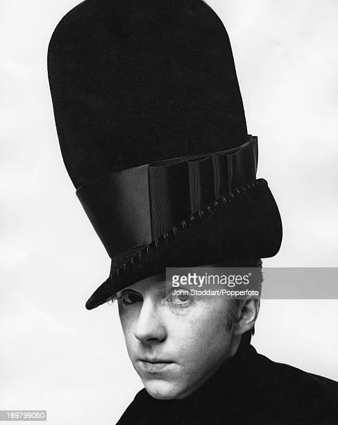 Irish milliner Philip Treacy circa 1995