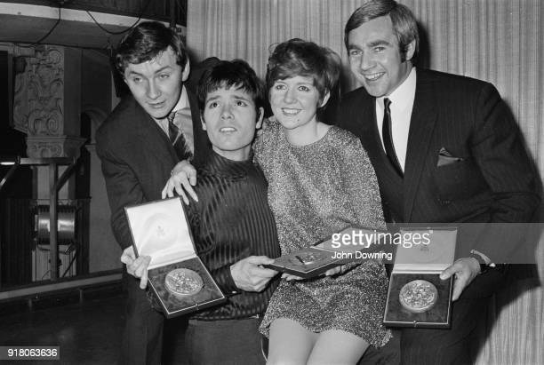 Irish musician and songwriter Phil Coulter, British singer Cliff Richard, British singer and television host Cilla Black and British songwriter and...