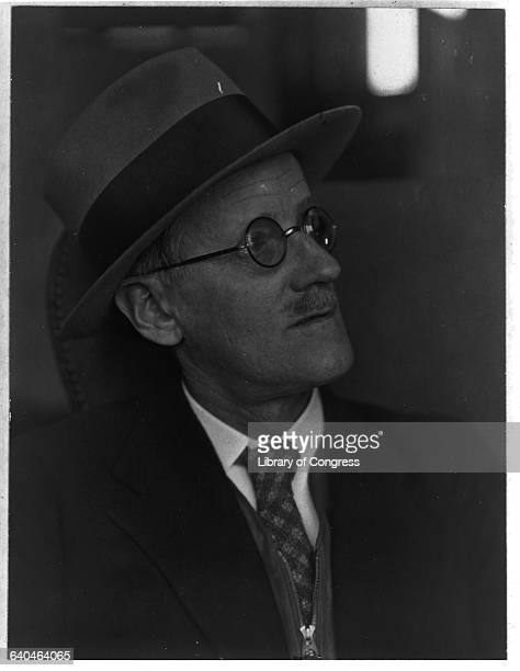 Irish Novelist James Joyce
