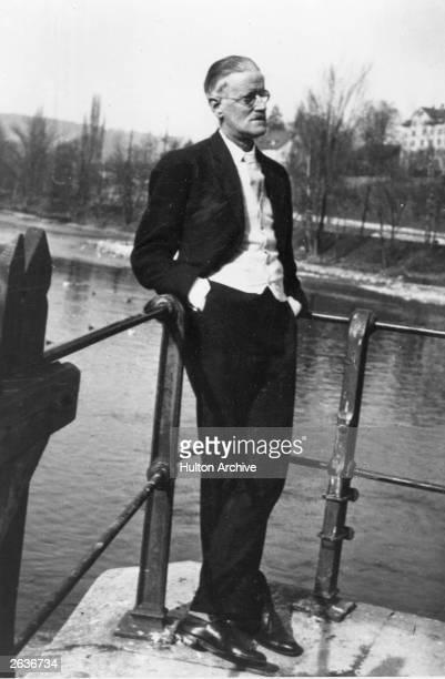 Irish novelist shortstory writer and poet James Augustine Aloysius Joyce in Zurich