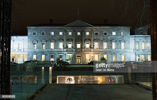 irish parliament building, dublin - government building stock pictures, royalty-free photos & images
