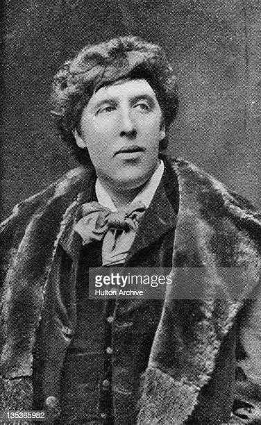 Irish playwright and poet Oscar Wilde circa 1884