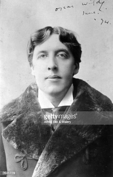 Irish playwright novelist and wit Oscar Wilde
