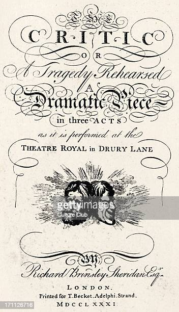 Irish playwright politician 30 October 1751 7 July 1816