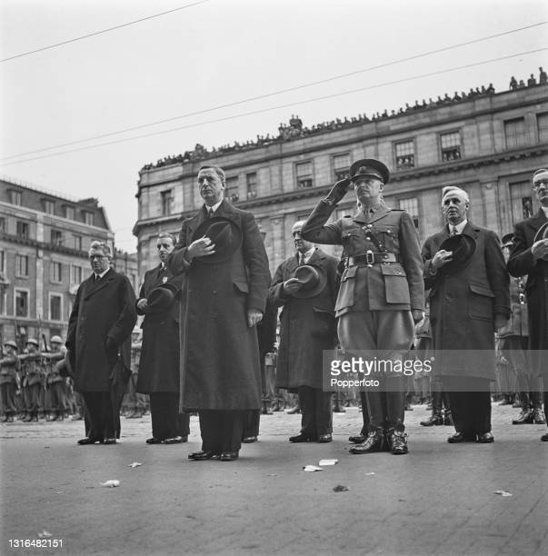 Irish politician and Taoiseach of Ireland Eamon de Valera , Daniel McKenna, Chief of Staff of Ireland's Defence Forces and various other government...