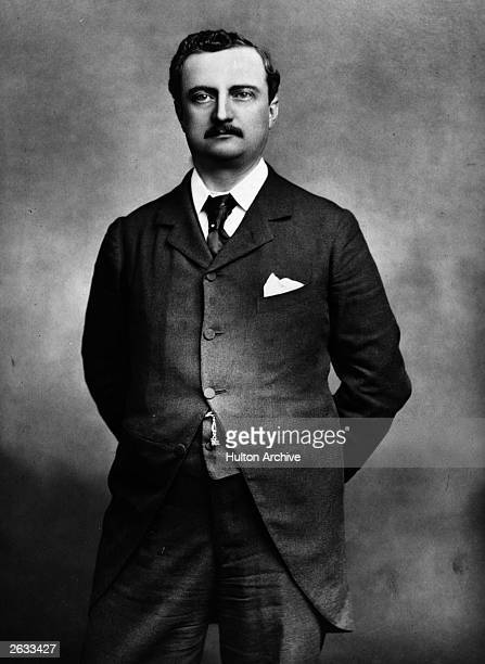 Irish politician John Redmond a champion of Home Rule who became chairman of the Nationalist Party in 1900 Picture published by Maxall in their 'Men...