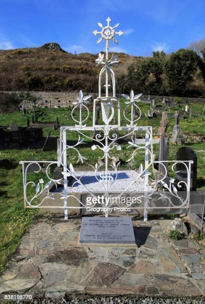 Irish potato famine memorial at Abbeystrewry cemetery Skibbereen County Cork Ireland Irish Republic