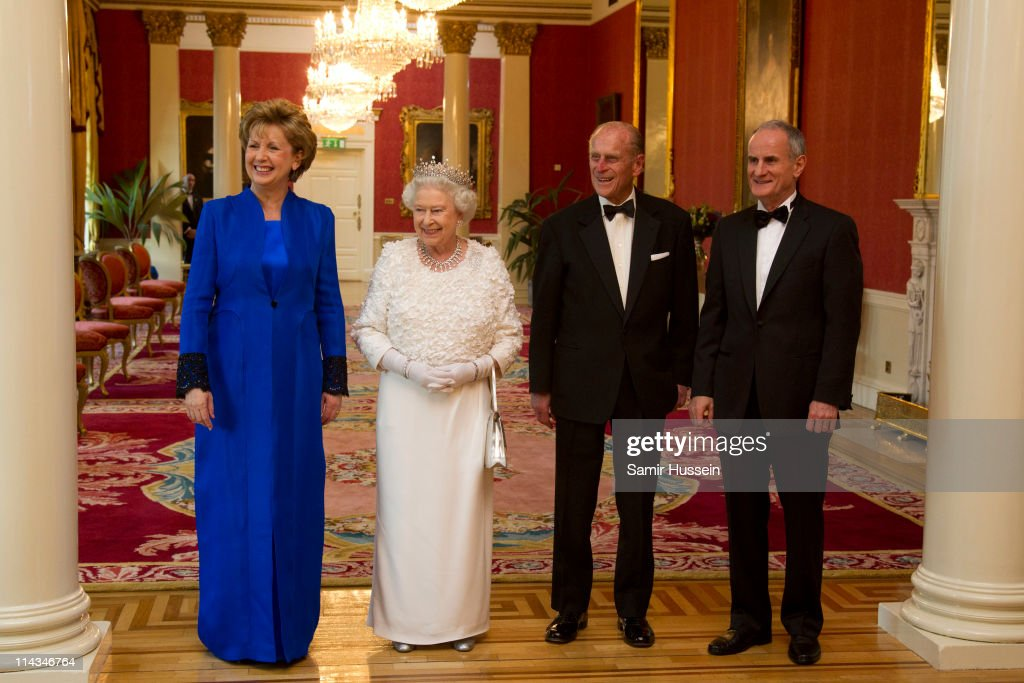 Queen Elizabeth II And Prince Philip State Visit to Ireland - Day 2 : News Photo