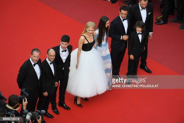 Irish producer Andrew Lowe Irish producer Ed Guiney Irish actor Barry Keoghan Australian actress Nicole Kidman British actress Raffey Cassidy Irish...