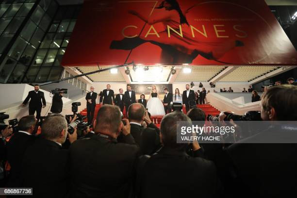 Irish producer Andrew Lowe Irish producer Ed Guiney Irish actor Colin Farrell US actor Sunny Suljic Australian actress Nicole Kidman Irish actor...