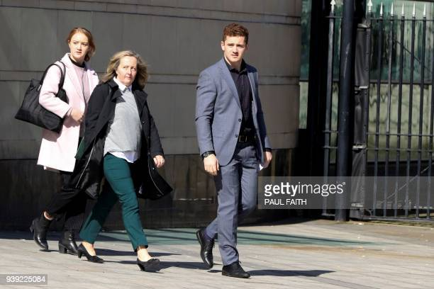 Irish rugby player Paddy Jackson leaves court in Belfast on March 28 after being found not quilty of a charge of rape Ireland rugby players Paddy...