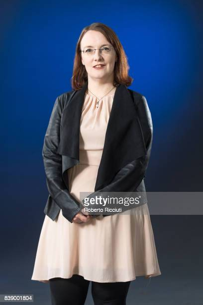 Irish short story writer blogger and novelist Lisa McInerney attends a photocall during the annual Edinburgh International Book Festival at Charlotte...