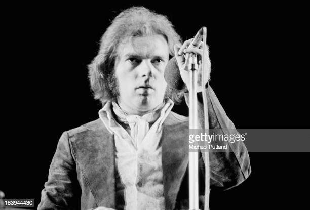 Irish singer and songwriter Van Morrison performing on stage July 1973
