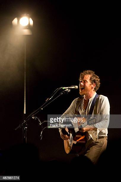 Irish singer Damien Rice performs live during a concert at the Tempodrom on August 4 2015 in Berlin Germany