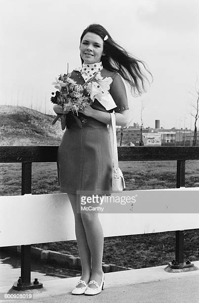 Irish singer Dana Rosemary Scallon aka Dana winner of the 1970 Eurovision Song Contest with the song 'All Kinds of Everything' 22nd March 1970