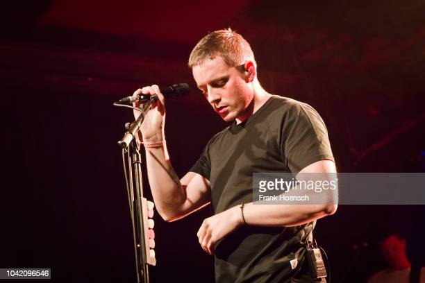 Irish singer Dermot Kennedy performs live on stage during a concert at the Astra on September 27 2018 in Berlin Germany