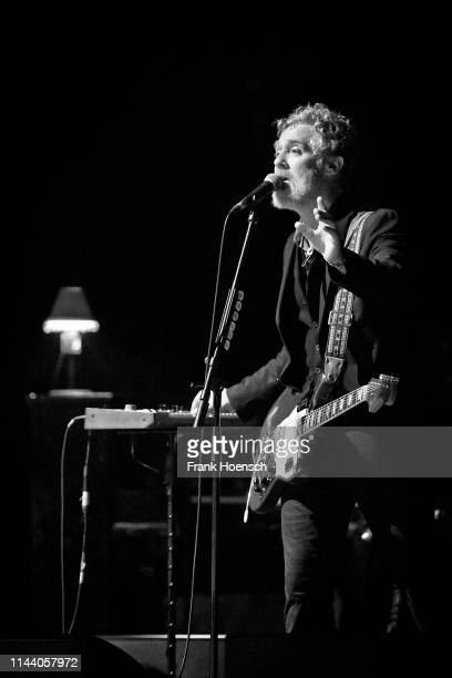 Irish singer Glen Hansard performs live on stage during a concert at the Admiralspalast on May 16 2019 in Berlin Germany