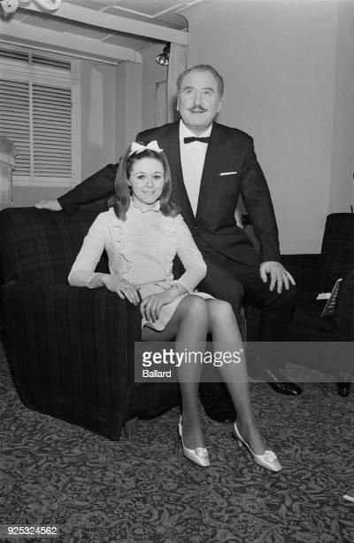 Irish singer Maggie Kelly with Irish tenor Josef Locke 7th May 1968