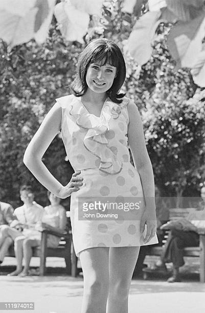 Irish singer Muriel Day 22nd July 1969 In March that year Day had represented Ireland at the Eurovision Song Contest