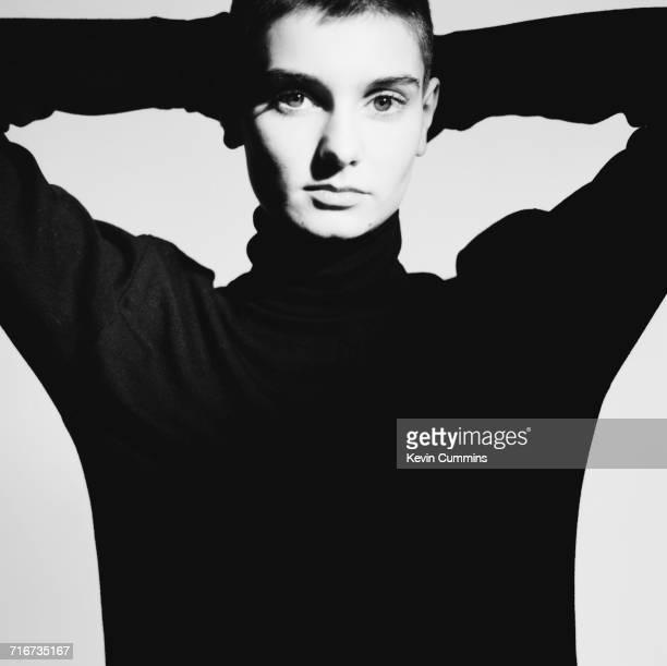 Irish singer Sinead O'Connor 22nd December 1989