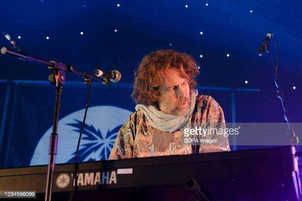 Irish singer, songwriter, actor and musician, Liam O' Maonlai best known as the lead vocalist with Dublin band The Hothouse Flowers, playing keyboard...