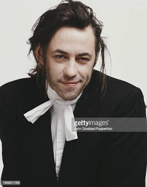Irish singer songwriter and activist Bob Geldof 1990