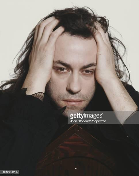 Irish singer songwriter and activist Bob Geldof 1990