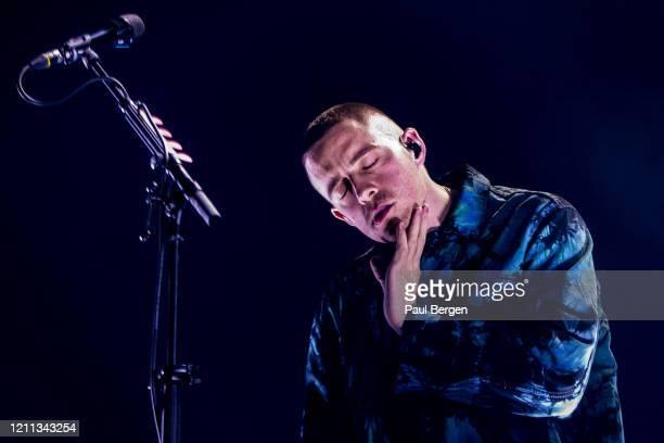 Irish singer-songwriter Dermot Kennedy performs at Afas Live, Amsterdam, Netherlands, 28 November 2019.
