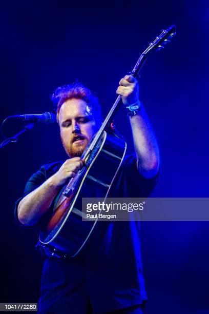 Irish singersongwriter Gavin James performs at Lowlands festival Biddinghuizen Netherlands 18th August 2018