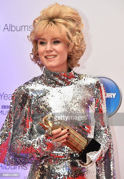 Irish singer-songwriter Roisin Murphy poses on arrival for the 2015 Mercury Music prize awards ceremony in central London on November 20, 2015. The...