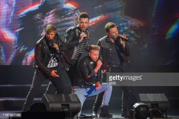 Irish singer/songwriter Shane Filan, Irish singer/songwriter Markus Feehily , Irish singer/multi-instrumentalist/songwriter Kian Egan and Irish...