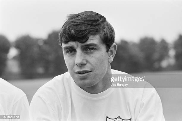 Irish soccer player Jimmy Conway of Fulham FC, UK, 18th July 1968.
