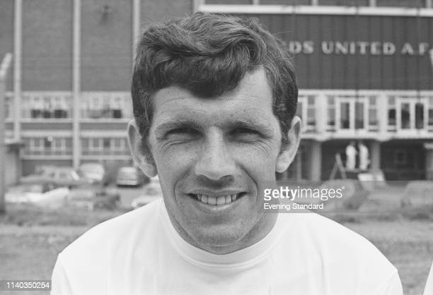 Irish soccer player Johnny Giles of Leeds United FC UK 29th July 1969