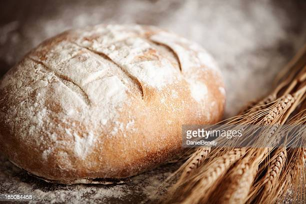 irish soda bread - loaf of bread stock pictures, royalty-free photos & images