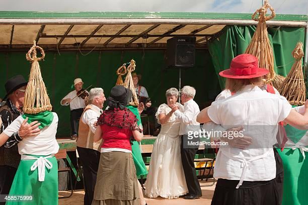 Irish straw boys dance