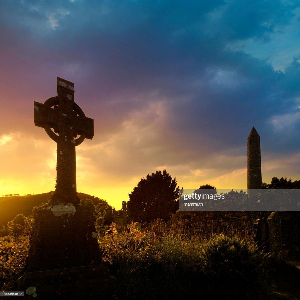 irish sunset : Stock Photo